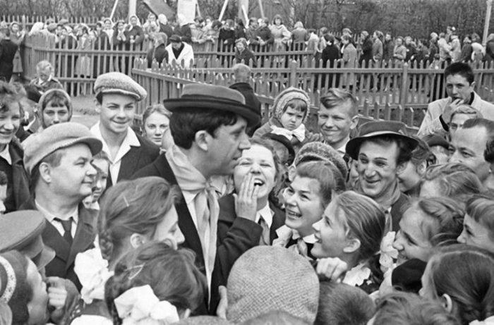 Встреча со зрителями, 1962 год.