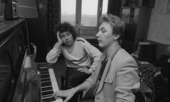 Начинающий певец Игорь Николаев (еще без усов), 1985 год.