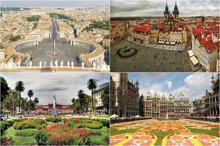 Самые известные городские площади мира.