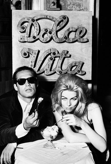 Румина и Лука Веллани для британского GQ, Рим, 1993 год.