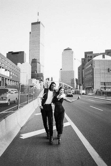 Кейт Мосс и Маркус Шенкенберг для журнала «Harper's Bazaar Uomo», Нью-Йорк, 1992 год.