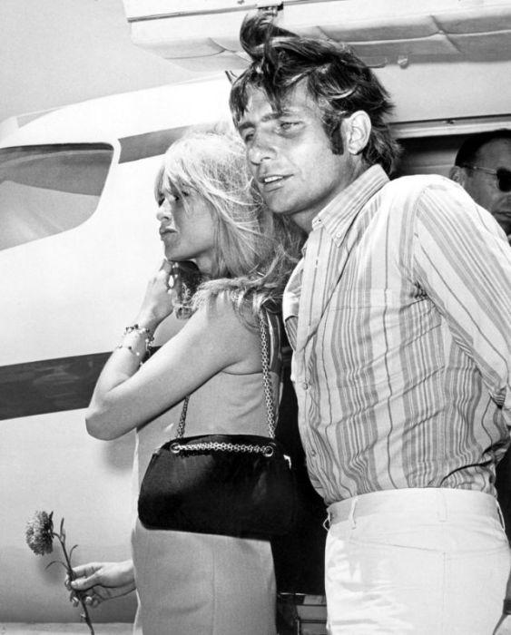 Французская актриса Брижит Бардо (Brigitte Bardot) и немецкий мультимиллионер Гюнтер Сакс.