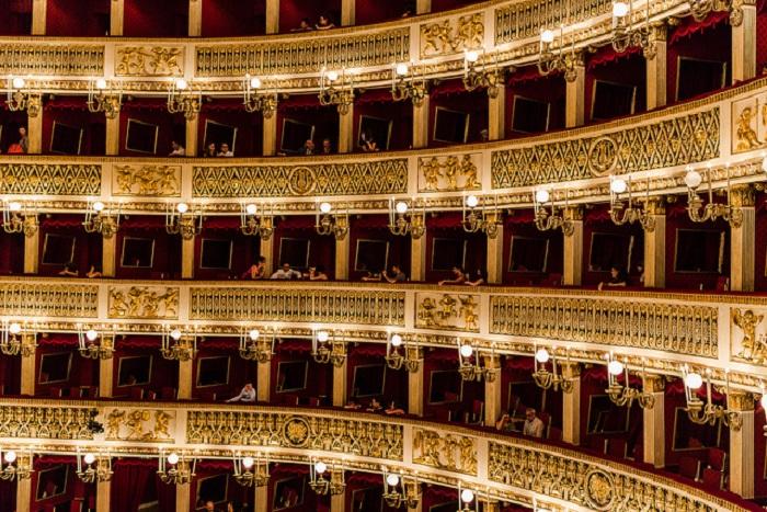 Самый старый оперный театра в Европе.