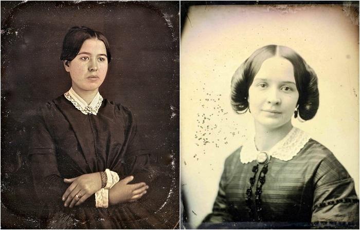 Девушки викторианской эпохи.