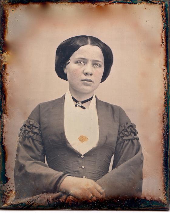 Ретро снимок 1853 года.