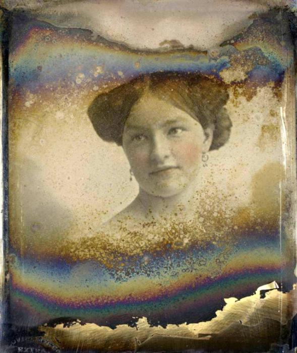 Ретро фотография 1852 года.