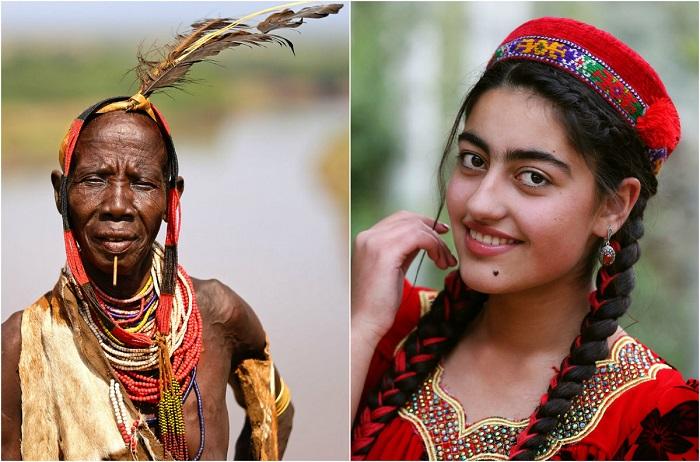 Снимки из фотопроекта Александра Химушина «Мир в лицах».