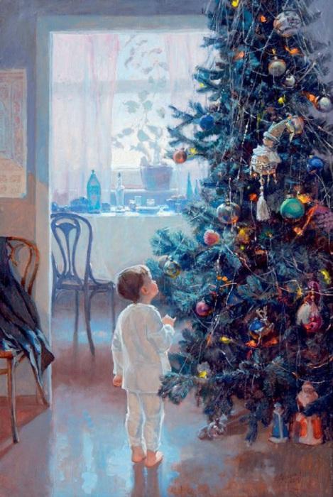 Масляная живопись художника Александа Левченкова.