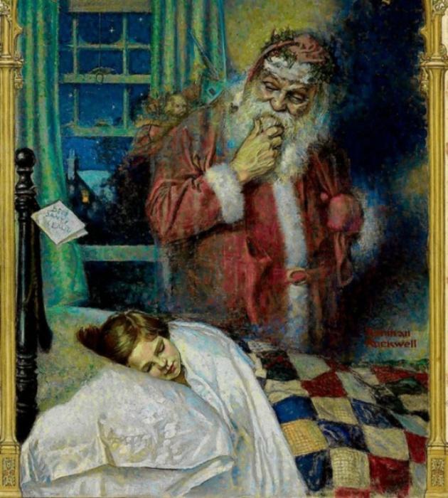 Работа американского художника и иллюстратора Нормана Роквелла, 1921 год.