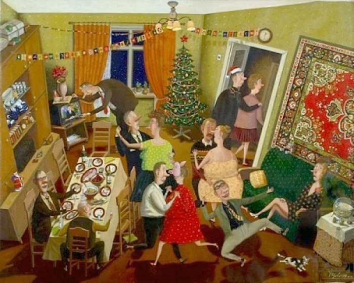 Художник, наделенный яркой индивидуальностью и особым, небанальным видением мира - Валентин Губарев.