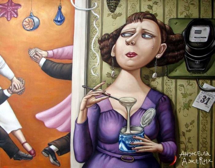 Работа художника из Донецка Анджелы Джерих.