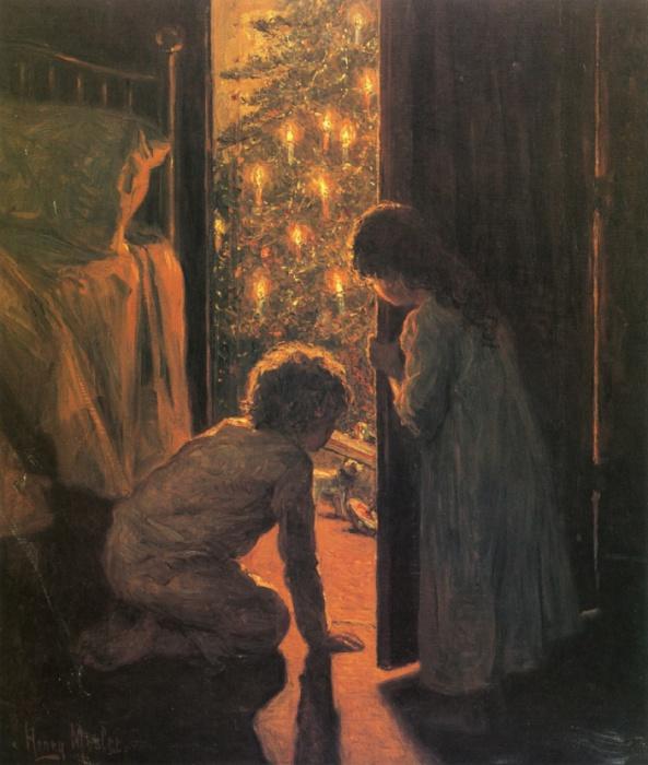 Работа американского художника Генри Мослер, 1916 год.