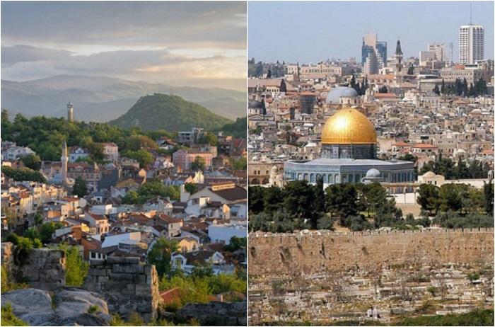 Древние города, существующие до сих пор.