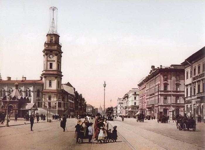 Невский проспект, 1896 год.