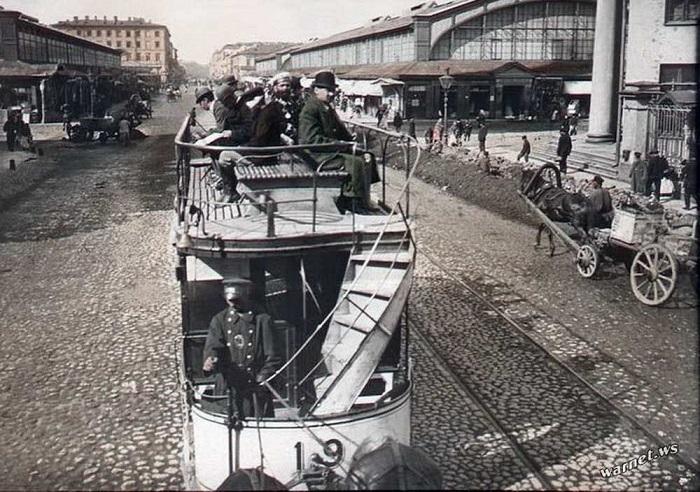 Ново-Александровский рынок, 1896 год.