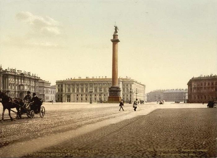 Дворцовая площадь, 1825 год.