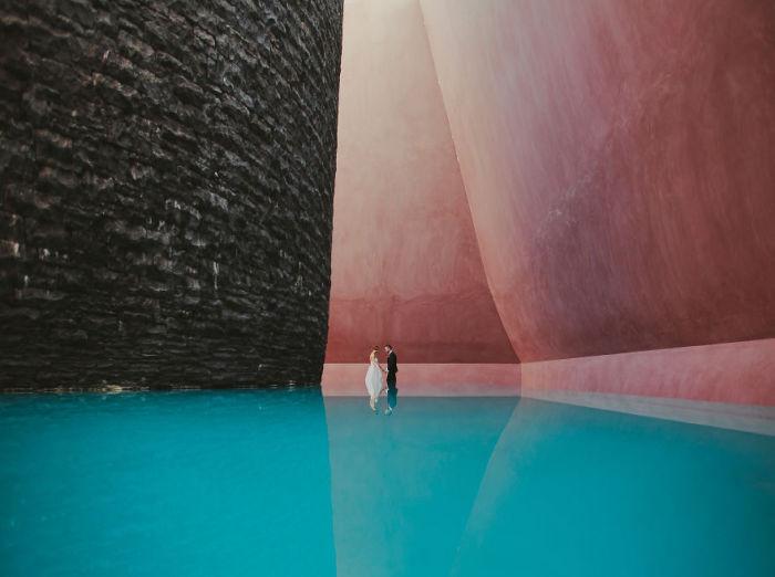 Удивительная инсталляция Джеймса Таррелла (James Turrell).
