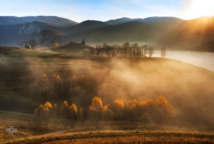 Кадры, сделанные румынским фотографом, очень напоминают волшебную сказку.