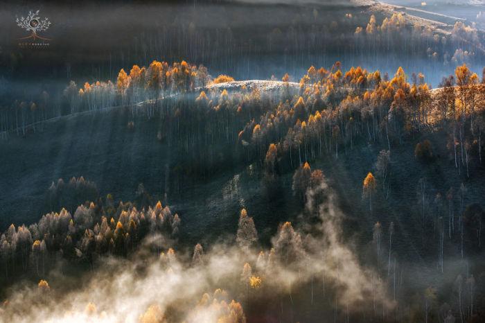 Чтобы подчеркнуть завораживающую красоту нетронутой природы, Алекс Робчук использовал некоторые методы фотографии и пост-обработки.