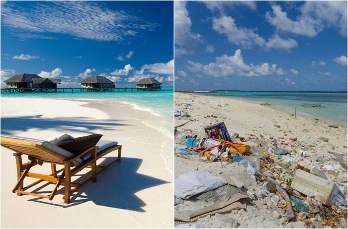 Курортные острова выглядят великолепно, но общественные пляжи оставляют желать лучшего.