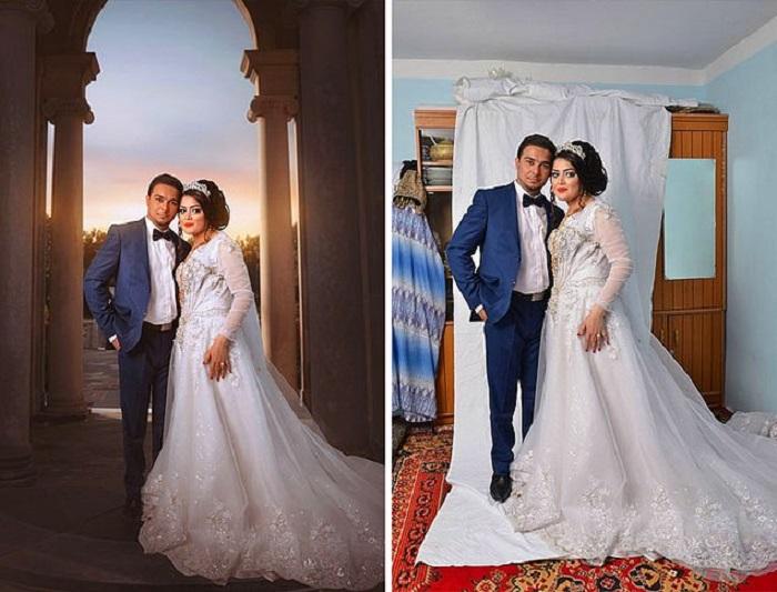 Как на самом деле создаются свадебные снимки.
