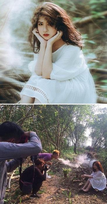 Пар от вейпинга – отличное решение для создания оригинального фотоэффекта.