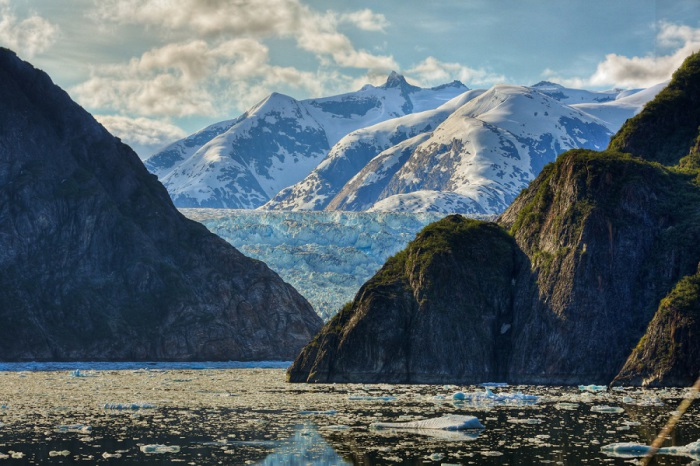 Потрясающий пейзаж Аляски. Фотограф Джон Кобб (John Cobb).