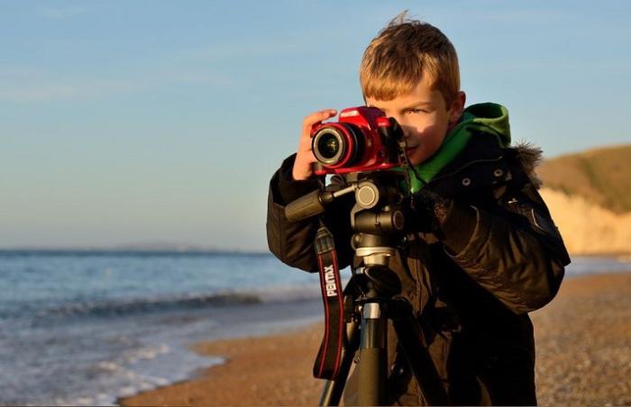 8-летний фотограф-самоучка Оливер Андреас (Oliver Andreas).
