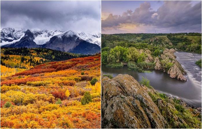 Лучшие снимки природы Украины по версии Википедии.