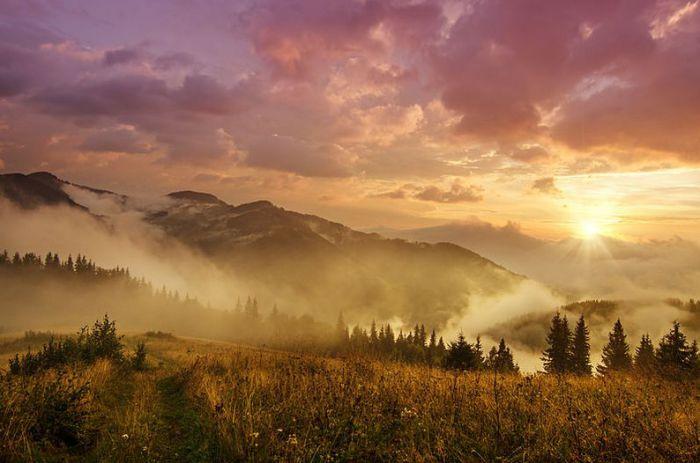 Карпатский национальный природный парк. Фотограф Роксана Баширова.