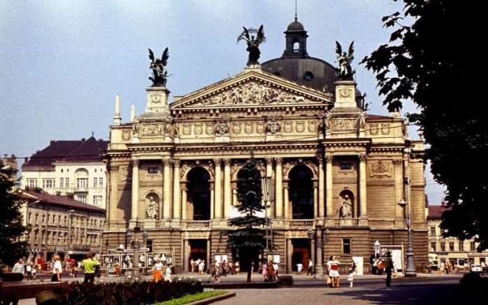 Львовский оперный театр, 70-е годы.