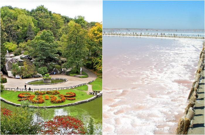 Самые необычные и красивые места Украины.