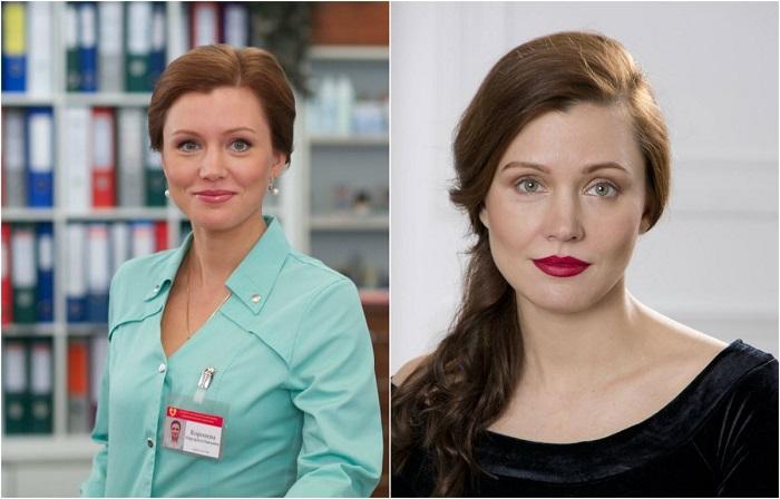 Многоплановая актриса, смогла завоевать любовь зрителей за харизму и свой актёрский непревзойденный талант, в ситкоме «Интерны» сыграла роль медсестры Риты.