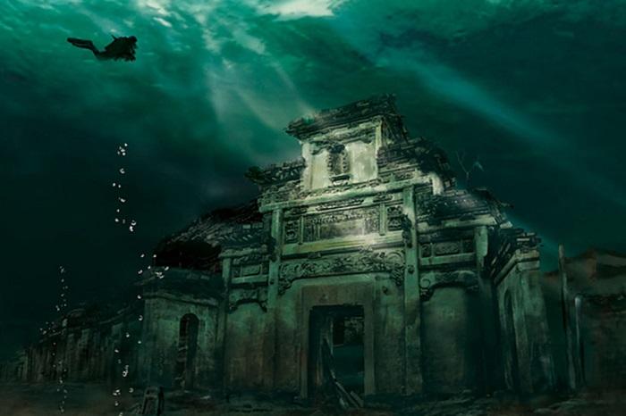 Невероятно красивый подводный город.