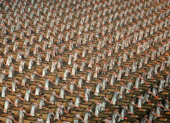 Открытия летних Олимпийских игр в Пекине.