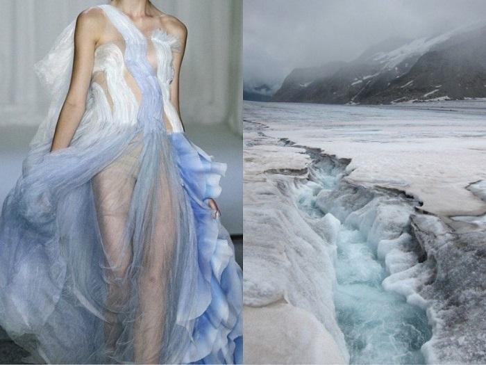 Ледниковый пейзаж.