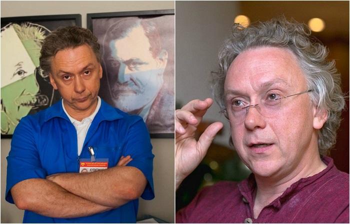 Российский актер театра и кино стал известен широкой публике после роли врача-венеролога Купитмана в сериале «Интерны».