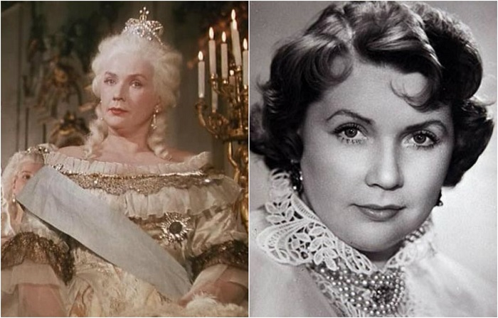 Советская актриса сыграла роль величественной императрицы Екатерины Второй, после которой часто принимала участие в съемках фильмов-сказок.
