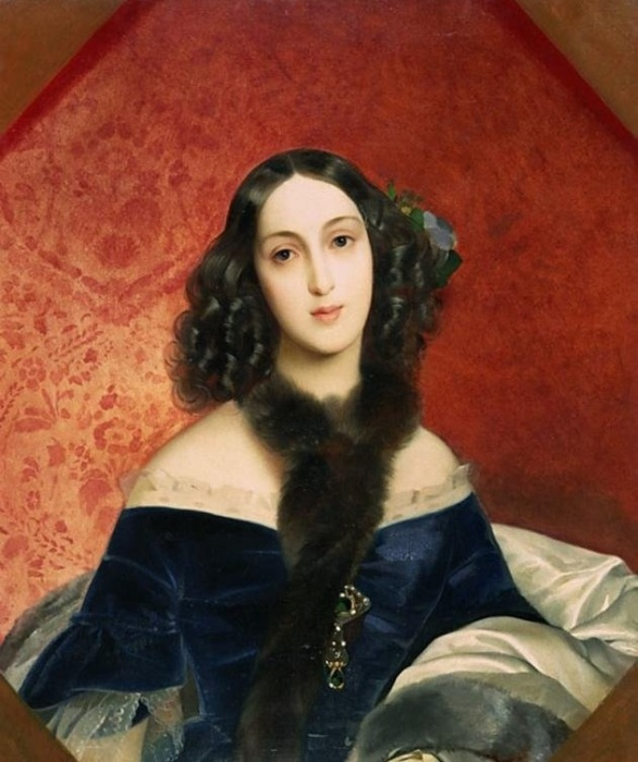 Гофмейстерина, статс-дама, жена видного деятеля русской культуры князя Павла Вяземского.