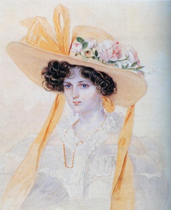 В ее внешности была своя изюминка, не для всех заметная: удлиненный овал лица, точеный профиль, дивные глаза, мечтательные и грустноватые, стройная фигура.