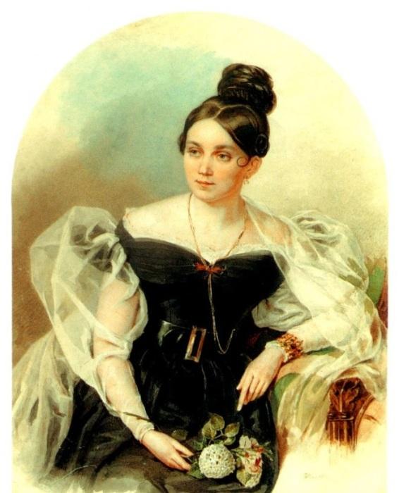 Московская знакомая Гоголя, жена историка и археолога А. Д. Черткова.