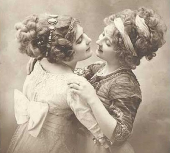 Первые лесбиянки в истории времен викторианской эпохи.