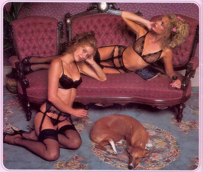 Сексуальная одежда, делающее тело моделей ещё более притягательным.