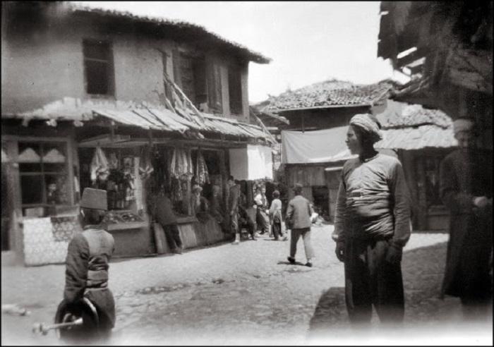 Центральный рынок в Эскишехире, 1903 год.