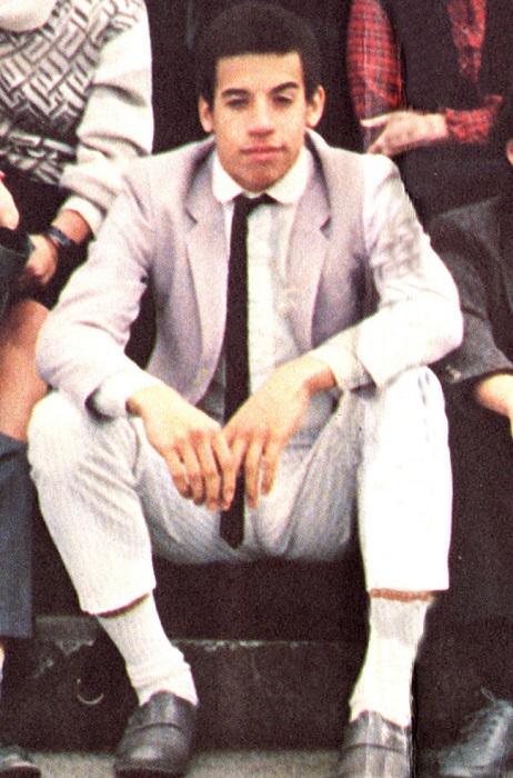 Выпускник Вин Дизель, 1985 год.