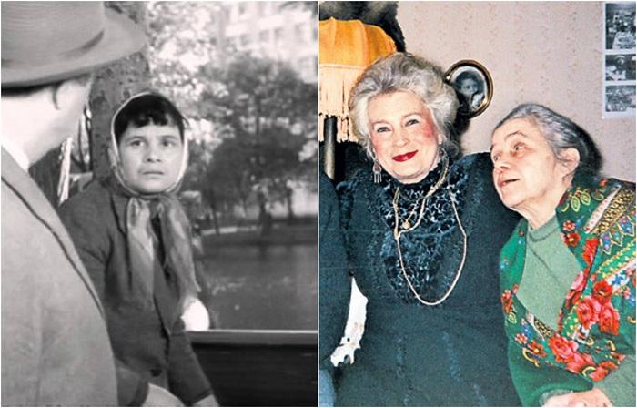 Самая востребованная в советский, и в постсоветский периоды отечественного кинематографа актриса снялась в эпизодической роли «хозяйки» собаки.