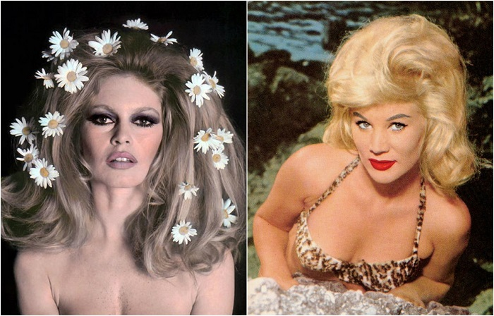 Невероятные прически 60-х годов XX столетия.