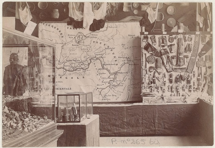 Экспонаты изучены во время путешествия Жозефом Мартеном на Становом хребете.