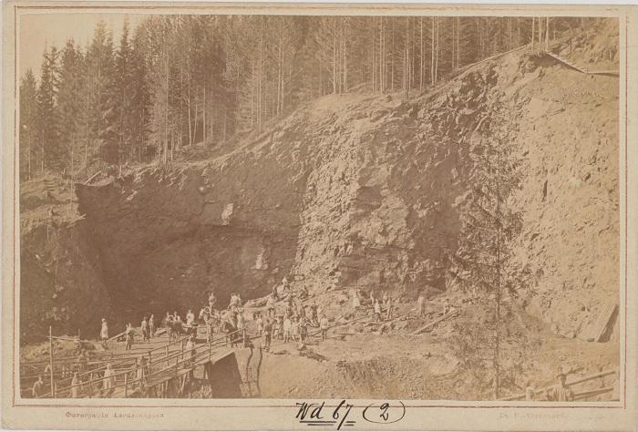 В период развития металлургии на Урале: в начале VIII века были возведены два завода Выйский и Нижнетагильский.