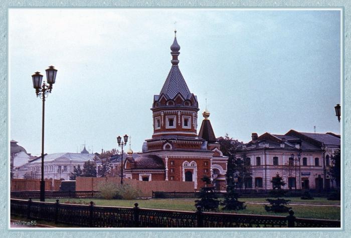 Миниатюрное украшение центра Ярославля.